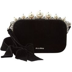 ae340c61ff1b Buy your velvet clutch bag MIU MIU on Vestiaire Collective