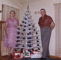 Christmas 1950s/1960s~OCD tree~♛