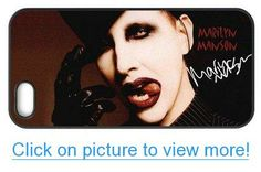 Accurate Store American musician Marilyn Manson Iphone 5,5S TPU Case Cover