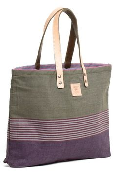 Will Leather Goods 'Weaver's House' Reversible Canvas Tote | Nordstrom