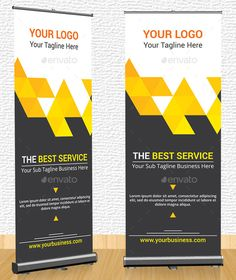 Corporate Creative Roll Up Banner — Vector EPS #creative #outdoor • Available here → https://graphicriver.net/item/corporate-creative-roll-up-banner/10783204?ref=pxcr