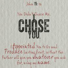 john15:16 | John 15:16