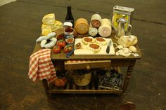 mini Italian table