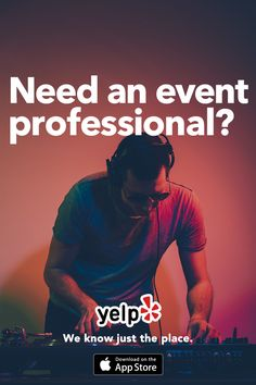 Need a DJ? We've got tons of great local recommendations. Searching for the perfect event space? We can help. Need a party supplier? We got you. Whatever your event needs, we've got a ton of great local spots lined up. With recommendations from millions of users, we know just the place.