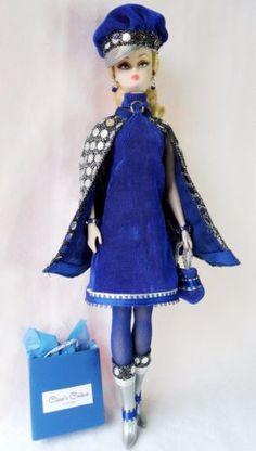OOAK-Vintage-Silkstone-Barbie-FR-Fashion-13pcs-Disco-Mod-Clares-Couture