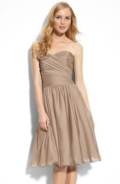 Gallery for - champagne bridesmaid dresses