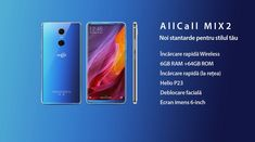 AllCall Mix 2 Negru, Ecran 6.0-inch FHD+ curbat 2.5D; Camera foto principală  16.0 MP, F/2.0 cu LED, HDR, Autofocus, Camera foto secundară 8.0 MP, Face ID; Sistem de Operare Android 7.1 Nougat; Acumulator mare - 3500mAh; Rama Metalica; Memorie 6GB RAM + 64 GB memorie interna; Conectivitate rapida 4G; Dual SIM, Dual Standby - preţ 750 lei ! Autofocus Camera, Face Id, Simile, Led, Metal, Metals