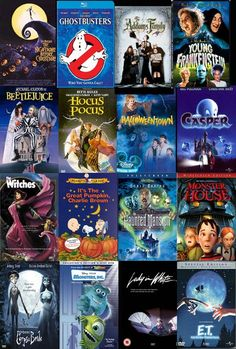 Halloween movies for entire month of October.