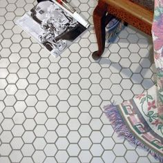 This hex tile is reminiscent of Victorian-era tile mosaics. It features a smooth, low-sheen finish for a clean, stylish look that looks great in modern construction or historical renovations. It's easy to clean, too!