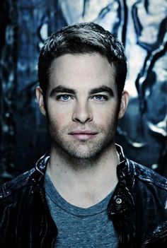 Chris Pine - the physical beauty is arresting. His laugh reverberates into your core and you are hook at this impeccably dressed gentleman.