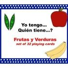 This product is utilized to practice fruit and vegetable vocabulary in Spanish. This is an engaging activity and requires all students to listen an...