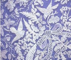 Honiton Lace from North Devon. A friend of my grandparents was a lace maker, unbelievably beautiful