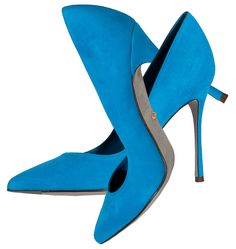 Sergio Rossi Royal Suede Pointy Toe blue stiletto pumps - http://womenspin.com/shoes/sergio-rossi-royal-suede-pointy-toe-blue-stiletto-pumps/