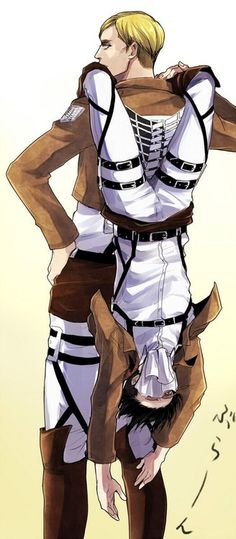 I didn't think this was possible, hahahah this fandom is crazy :D Snk