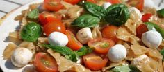 Caprese voor een verrukkelijke pastasalade | Lekker Tafelen