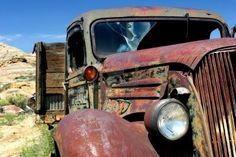 gotta love old farm trucks.