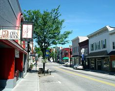 Our tony downtown Lewisburg, WV... a decade of calling her home, but moving on now. VERY bittersweet.