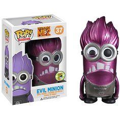 Funko POP Movies Despicable Me Purple Minion Metallic Vinyl Figure Minions Do Mal, Evil Minions, Funny Minion, Minions Cartoon, Funk Pop, Pop Vinyl Figures, Pop Minion, Minion Stuff, Purple Minions