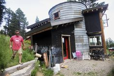 Gallatin College instructor turns to grain silo for energy-efficient home on Bozeman Pass