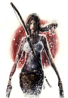 ArtStation - Tomb Raider: Badass Lara!, Leandro Furlanetto