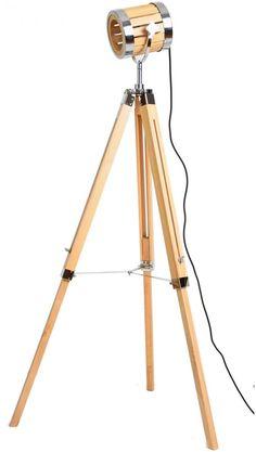 efurniture : Wood Tripod Floor Lamp price, review and buy in UAE, Dubai, Abu Dhabi | Souq.com