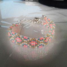 #bracelet #miyuki #perles #diy #faitmain #handmade #bijou #jewelry #création #jenfiledesperlesetjassume #metieratisser #perlesmiyuki #miyukiperles