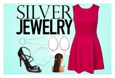 """""""Silver Jewelry"""" by ilovehorses394 ❤ liked on Polyvore"""