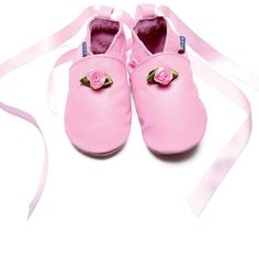 adorable Rose Ballet Shoes from www.custardandcrumble.co.uk