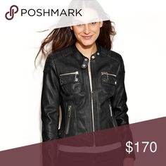 MK Leather jacket NWT. Price firm so don't ask please. Michael Kors Jackets & Coats