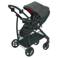 Experience 7 ways to ride in an ultra-lightweight stroller with the Graco Remix Stroller. The reversible baby stroller seat allows baby to face you or the world and reclines flat to create to a cozy infant bassinet. The stylish stroller's ultra-slim fold makes for easy storing. The extra-large basket, child cup holder, and Mix N' Move, dishwasher safe parent accessories provide convenience when strolling with baby. The Remix Stroller keeps you ready for anything while on the go!