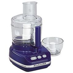 kitchenaid food processor in cobalt blue.  It is the one Kitchenaid appliance I don't have in cobalt blue.