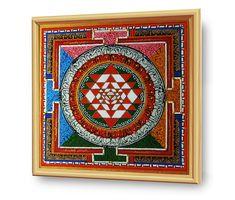 #SHRI_YANTRA - #ENERGETISCHE_Kunst von #Art_Heil_Studio: Dr_Mariia_Bohach (#MariRich) #kunst #malerei #regenbogen #jubilaum #muttertag #mandala #yantra #geschenk #geburtstag #meditation #art_therapie Meditation, Mandala, Etsy, Vintage, Studio, Art Therapy, Rain Bow, Mother's Day, Craft Gifts