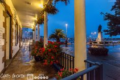 Sought refuge under the veranda at the Picquet House during tonights downpour. Bit of a damp one out there in town this evening. #Guernsey #GreatThings  Link to the whole collection of 'Georgie's Pic Of The Day' :-http://chrisgeorge.dphoto.com/#/album/4daaes  Picture Ref: 12_08_15 — in St. Peter Port, Guernsey, Channel Islands.
