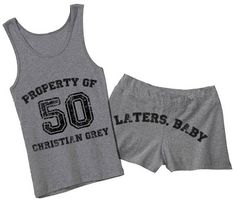 Fifty Shades of Grey Inspired  50 Shades of by domesticspaztoo, $42.00