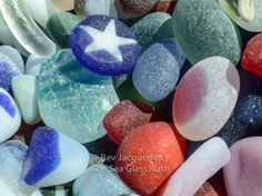 """$40  """"The Sea Glass Rush"""", author bevjacquemet@gmail.com, photography book direct order, also on Amazon"""