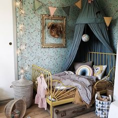 girl room decor Childrens room and childrens bedroom ideas Childrens Room Decor, Baby Room Decor, Bedroom Decor, Girls Bedroom, Bedroom Ceiling, Kids Decor, Baby Room Boy, Child Room, Baby Baby