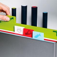 Joseph Joseph Index™ Advance with knives | Chopping board set