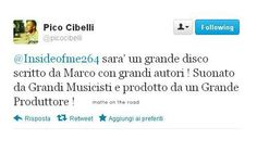 Pico cibelli about the Marco Mengoni's next CD *_*