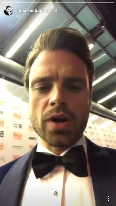 Sebastian ✪ Stan Instagramming  at The 2017 Toronto International Film Festival on September 8, 2017 in Toronto, Canada.