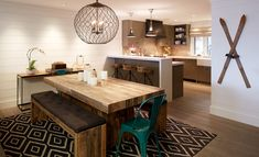 Dining + kitchen