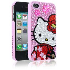 Hello Kitty Kimono Case for Apple iPhone 4/4S - Pink