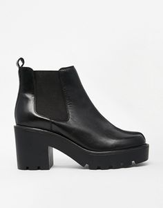 ASOS – EVERY CLOUD – Chelsea Ankle Boots aus Leder