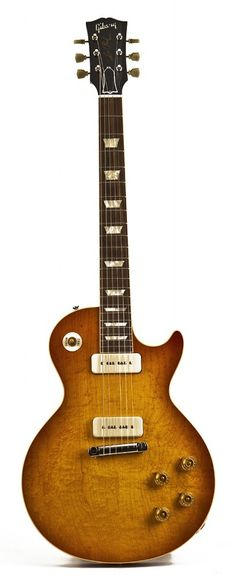 2013 Gibson Custom Shop 1954 Les Paul Reissue in Washed Cherry Sunburst, spotted at http://davesguitar.com/products/gibson-custom-shop/1954-les-paul-reissue-2/