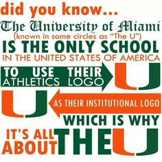 It's all aboUt the U