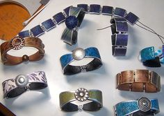 Bracelets by Ame Hoover, via Flickr