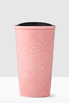 Pink, hearts, and gold accents adorn these super cute travel mugs, coffee cups, and gift sets. Shop this Starbucks collection for the perfect Valentine's Day gift. Starbucks Drinkware, Starbucks Tumbler, Starbucks Drinks, Starbucks Coffee, Pink Starbucks, Starbucks Valentines, Starbucks Store, Caffeine Addiction, Cute Cups