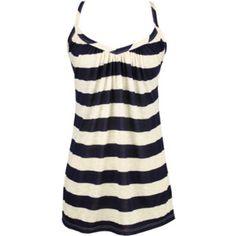 on the boardwalk tank - striped shirt - sweetheart neck - cute - sailor - $21