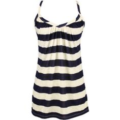 on the boardwalk tank - striped shirt - sweetheart neck - cute - sailor - $21