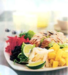 Fresh & Cool Summer Meals: Caribbean Grilled Chicken Salad (via Parents.com)