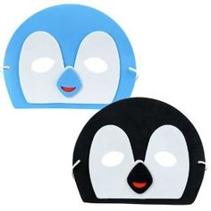Penguin Masks Assorted (12) Party Supplies #YoYoBirthday